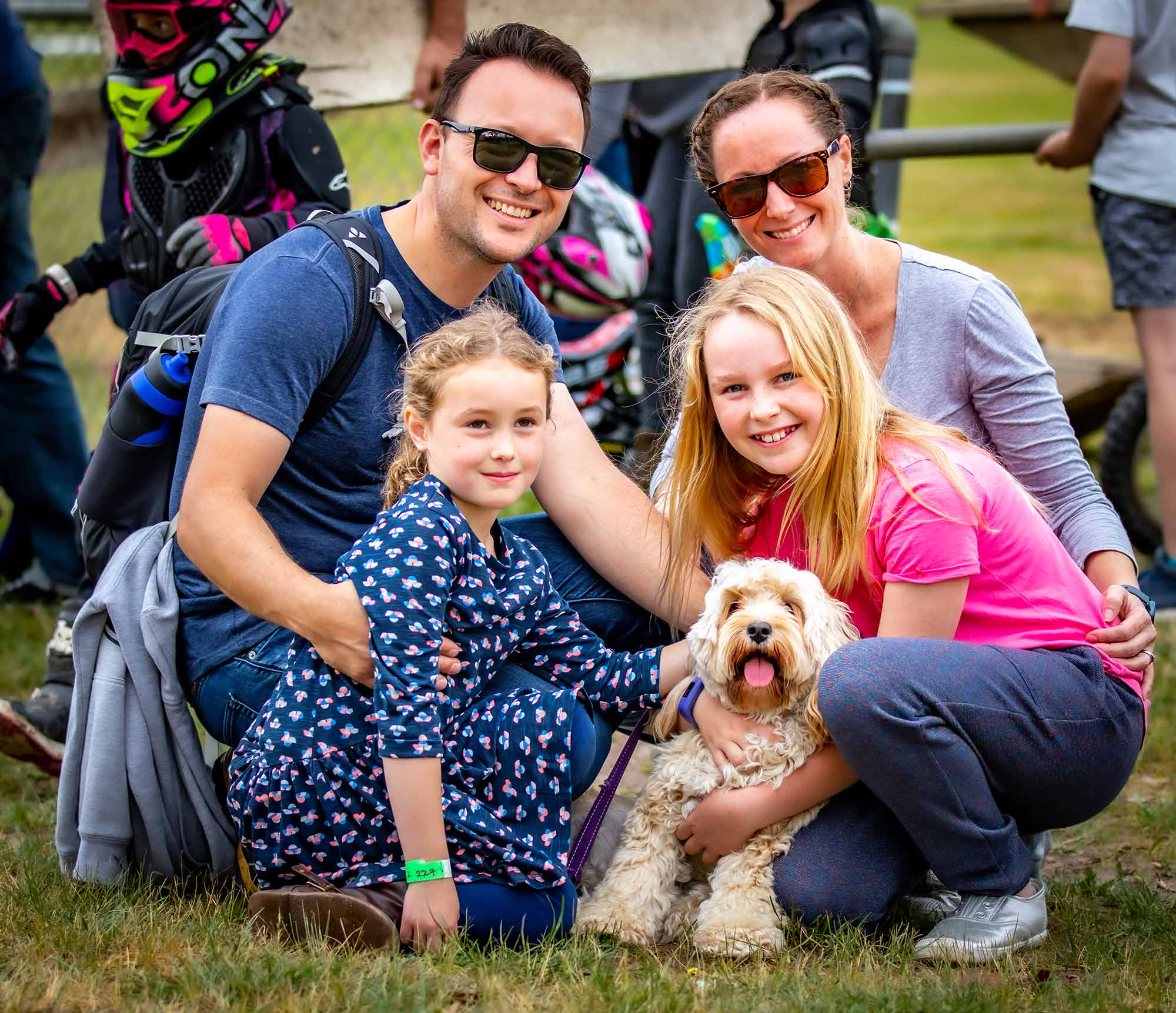 Family at the Whittlesea Show